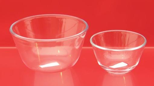 после мисок убрать все и доб термостойкое стекло, 1,25л; 0,4л; Helpina 00641