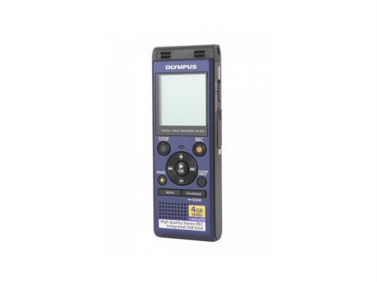 Цифровой диктофон Olympus WS-806 4Гб синий диктофон olympus ws 833