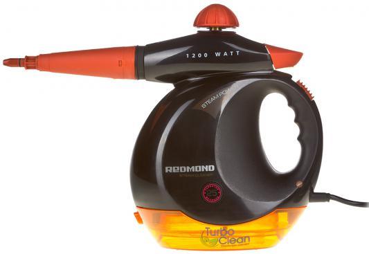 Пароочиститель Redmond RSC-2010 1200Вт 0.3л оранжевый-черный