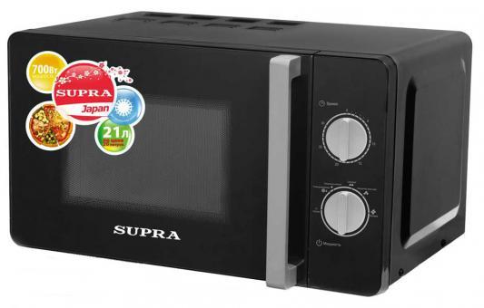 СВЧ Supra MWS-2103MB 700 Вт чёрный supra is 2602c