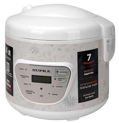 цена на Мультиварка Supra MCS-4704 800Вт белый