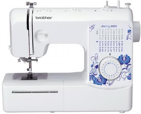 Швейная машина Brother ArtCity 300A белый электромеханическая швейная машина brother artcity 300a