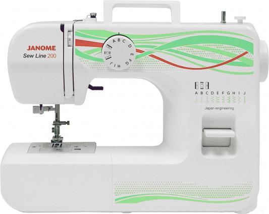 цена на Швейная машина Janome Sew Line 200 белый