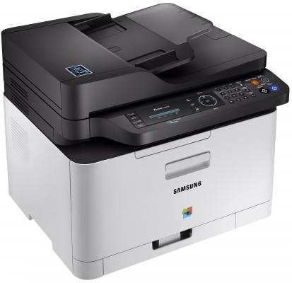 МФУ Samsung SL-C480FW цветное А4 18ppm 600x600dpi Ethernet USB