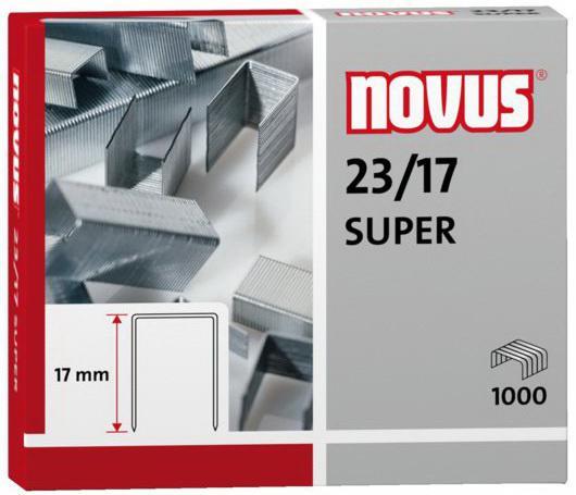Скобы Novus 23/17 1000шт 042-0045