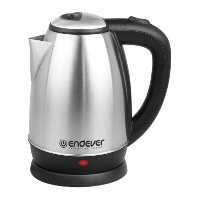 Чайник ENDEVER KR-229S 1800 Вт серебристый чёрный 1.8 л нержавеющая сталь чайник mystery mek 1601 1800 вт серебристый чёрный 1 7 л нержавеющая сталь