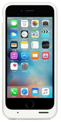 Чехол-аккумулятор Apple MGQM2ZM/A для iPhone 6 iPhone 6S белый