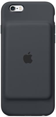 Чехол-аккумулятор Apple MGQL2ZM/A для iPhone 6 iPhone 6S серый gumai silky case for iphone 6 6s black