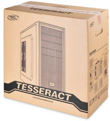 Корпус ATX Deepcool Tesseract BF Без БП чёрный DP-CCATX-TSRBFBK