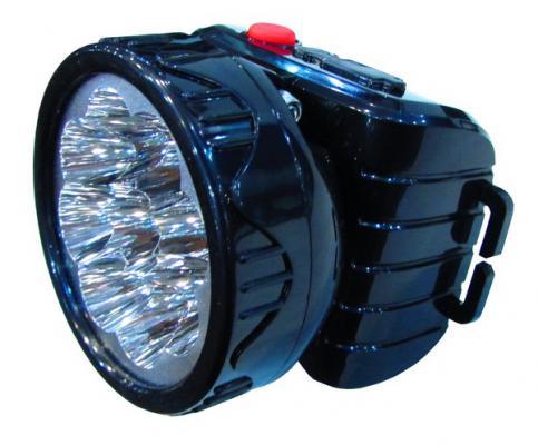 Фонарь ТРОФИ TG9 светодиодный налобный черный