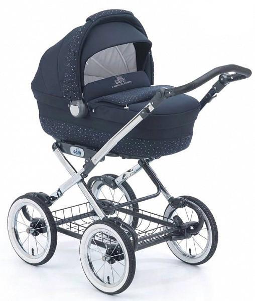 Коляска для новорожденного Cam Linea Elegant Exclusive (цвет 316/кристаллы+неопрен)