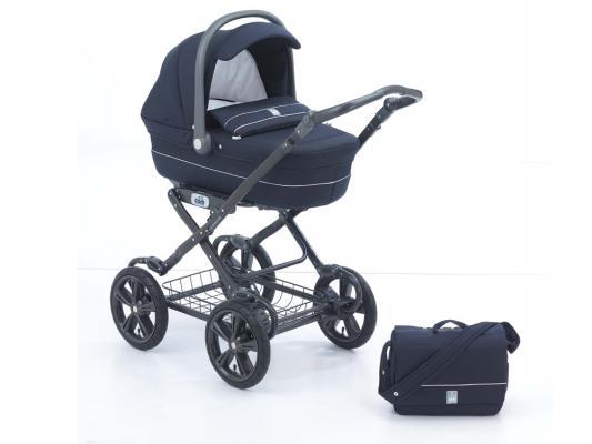 Коляска для новорожденного Cam Linea Sport Exclusive (цвет 96/синий-белая полоса)