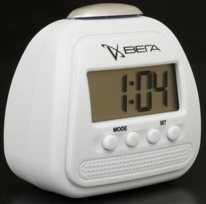 Часы настольные Вега HS 2708 белый