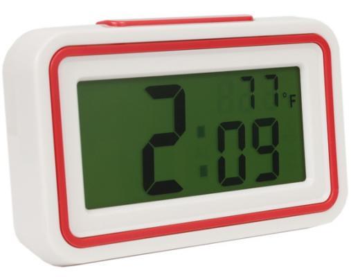Часы настольные Вега HS 2721 белый кронштейн kromax vega 50 белый