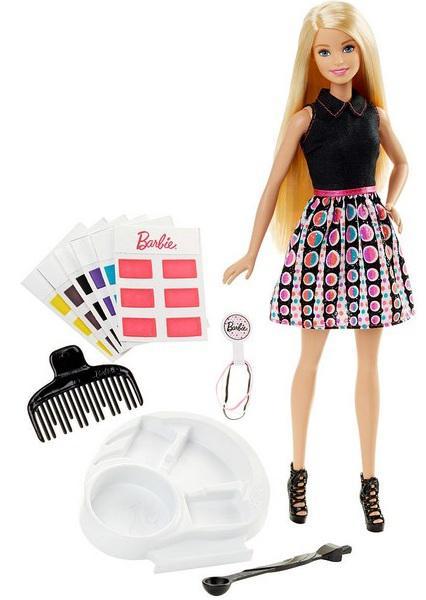 Кукла Barbie Игра с цветом 29 см DHL90 от 123.ru