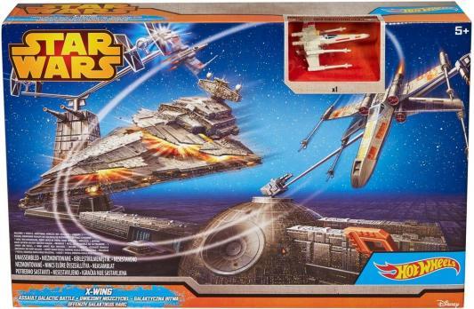 Купить Игровой набор Hot Wheels Star Wars Битва с Имперским крейсером от 5 лет CGN30, Hot Wheels (Mattel), для мальчика