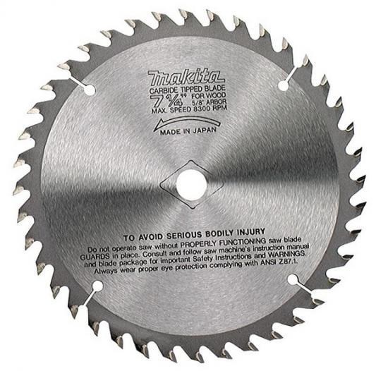 Пильный диск Makita 15.88х2.3мм 60зуб по дереву B-29284 стоимость