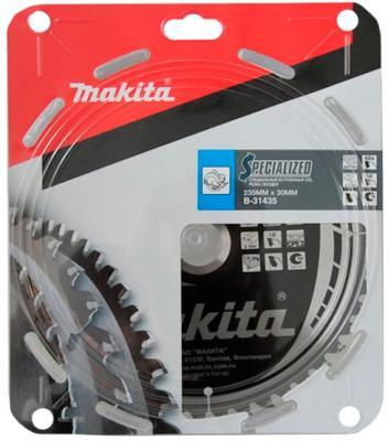 Пильный диск Makita 235х30х2.3мм 48зуб по дереву B-31435