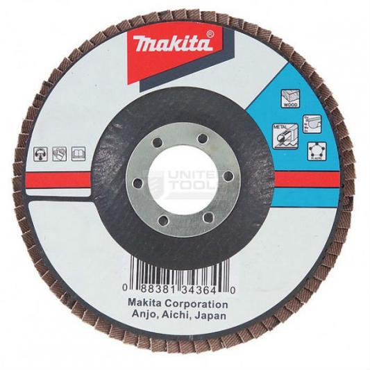 Лепестковый диск Makita 125х22мм К80 D-27707