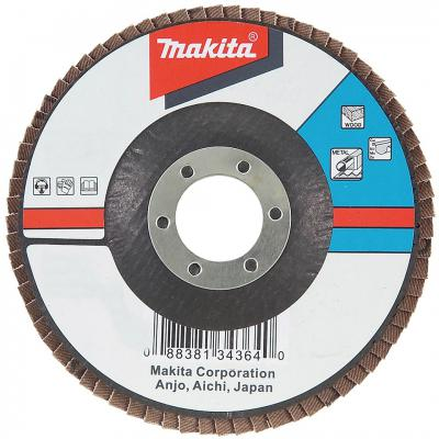 Лепестковый диск Makita 125х22мм К40 D-27682