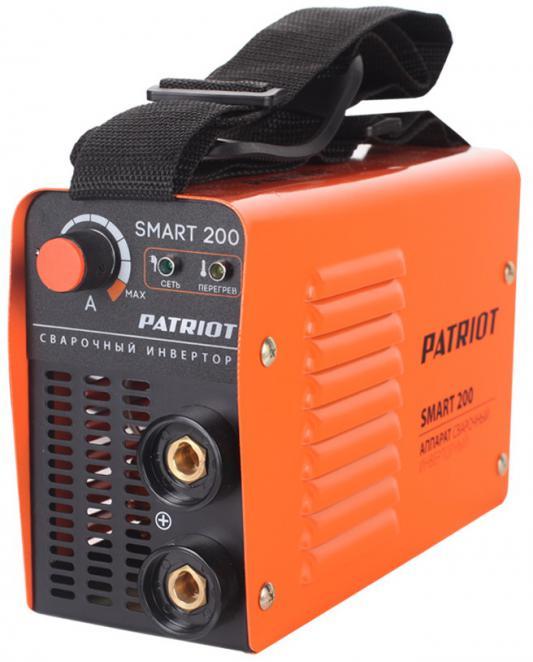 Аппарат сварочный Patriot SMART 200 MMA инверторный