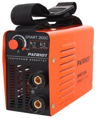 Аппарат сварочный Patriot SMART 200C MMA инверторный