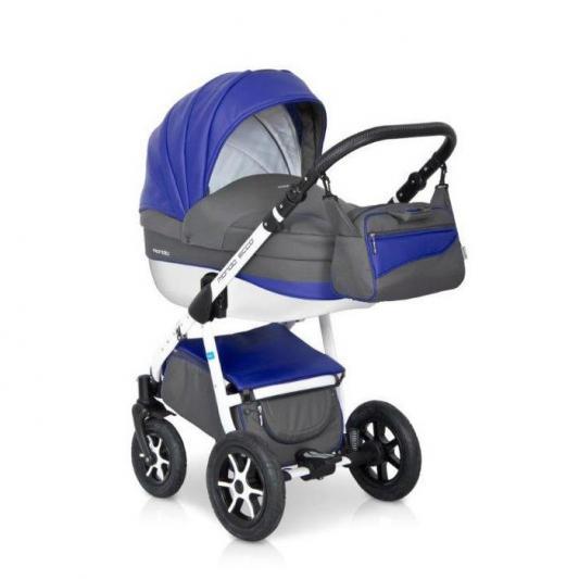Коляска 2-в-1 Expander Mondo Ecco (31/серый-синий) женские сапоги ecco 351123 14 11001 01220