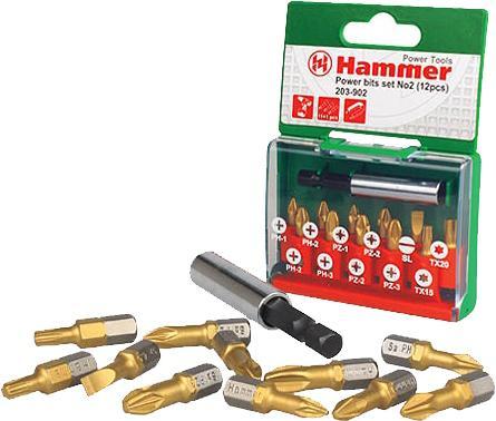 Набор бит Hammer Flex 203-902 12шт