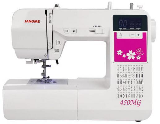 Швейная машина Janome 450MG белый швейная машинка janome 450mg