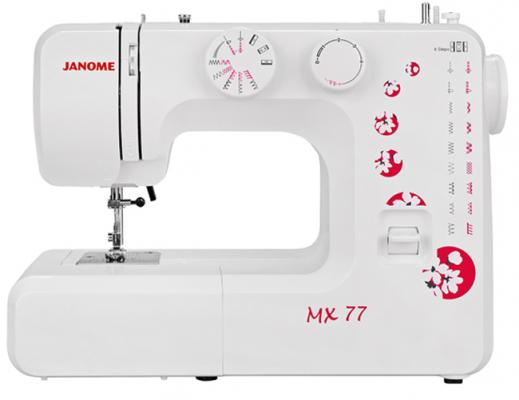 Швейная машина Janome MX 77 белый недорго, оригинальная цена