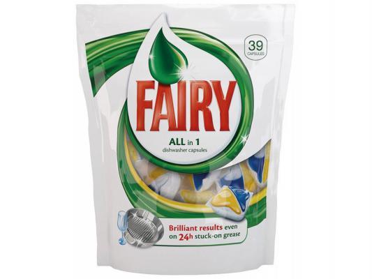 Средство Fairy All in 1 для мытья посуды для посудомоечных машин 39шт 80232599