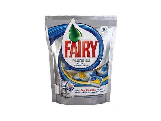 Средство Fairy Platinum All in 1 для мытья посуды для посудомоечных машин 40шт 80232609