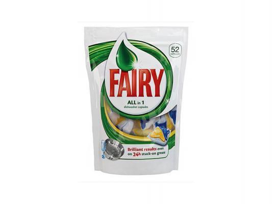 Средство Fairy All in 1 для мытья посуды для посудомоечных машин 52шт 80232600