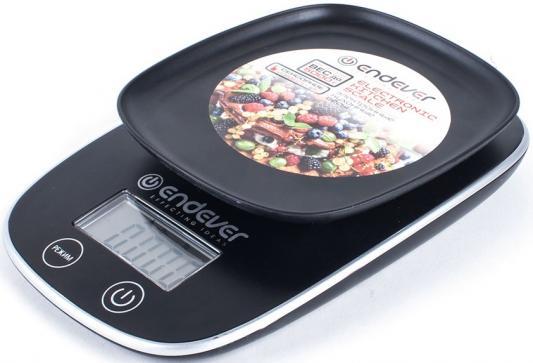 Весы кухонные ENDEVER Skyline KS-526 чёрный цена и фото