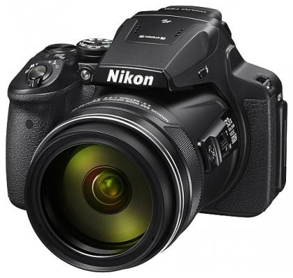 Фотоаппарат Nikon CoolPix P900 16Mp 83x Zoom черный VNA750E1 nikon coolpix a900 черный