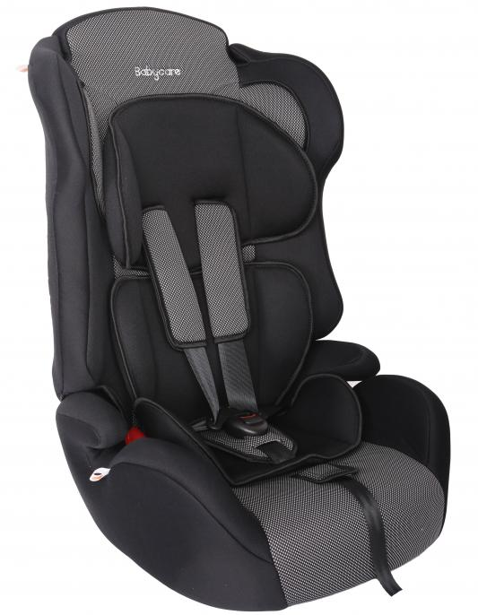 Автокресло Baby Care BC-513 Люкс Жирафик (карбон/серый)