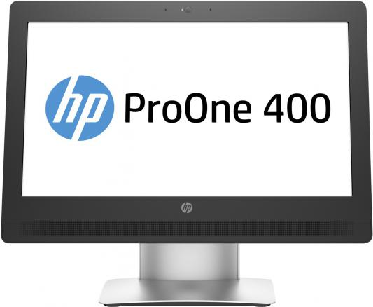 "Моноблок HP ProOne 400 G2 20"" 1600x900 i3-6100T 3.2GHz 4Gb 500Gb HD530 DVD-RW DOS клавиатура мышь серебристый T4R56EA"