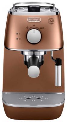 Кофеварка DeLonghi ECI 341 CP Distinta бронзовый красно-черный кофеварка delonghi ecam44 664 b 1450вт черный
