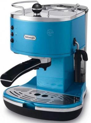 Кофеварка DeLonghi ECO 311 B Icona синий красно-черный