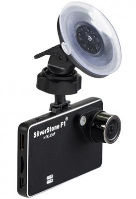 """Видеорегистратор Silverstone F1 NTK-330 F 2.7"""" 1920x1080 1.3Mp 140° microSD microSDHC датчик движения USB HDMI черный"""