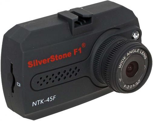 Видеорегистратор Silverstone F1 NTK-45 F 1.5 1920x1080 1.3Mp 140° microSD microSDHC датчик движения USB HDMI черный