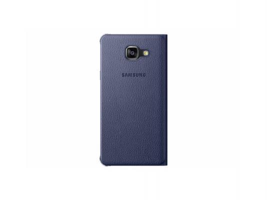 Чехол Samsung EF-WA510PBEGRU для Samsung Galaxy A5 Flip Wallet A510 черный
