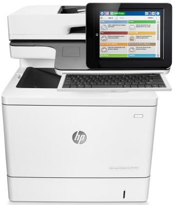 МФУ HP Color LaserJet Enterprise M577c B5L54A цветное A4 38ppm 1200x1200dpi Duplex Ethernet USB спот citilux техно cl503541