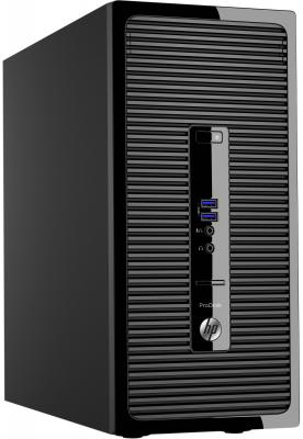 Системный блок HP ProDesk 400 G3 G4400 3.3GHz 4Gb 500Gb HD510 DVD-RW Win7Pro Win10Pro клавиатура мышь черный P5K05EA