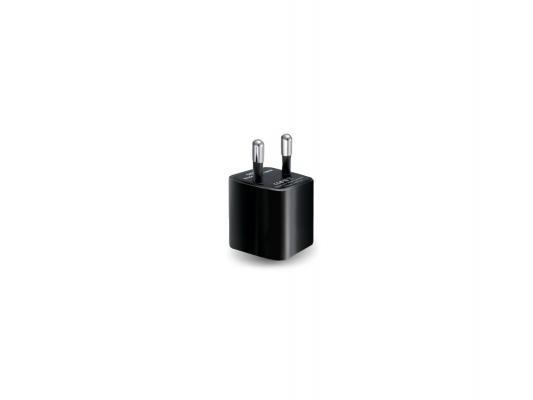 Сетевое зарядное устройство Ginzzu GA-3005B USB 1A черный