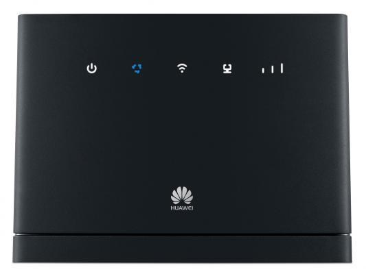 Маршрутизатор Huawei B315 802.11n 300Mbps 2.4 ГГц 4xLAN USB RJ-11 черный