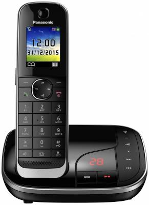 Радиотелефон DECT Panasonic KX-TGJ320RUB черный радиотелефон dect panasonic kx tg1611ruh