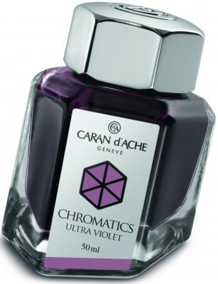 Флакон с чернилами Carandache Chromatics Ultraviolet чернила фиолетовый 50мл 8011.099