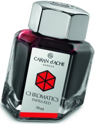 Флакон с чернилами Carandache Chromatics Infrared чернила красный 50мл 8011.070