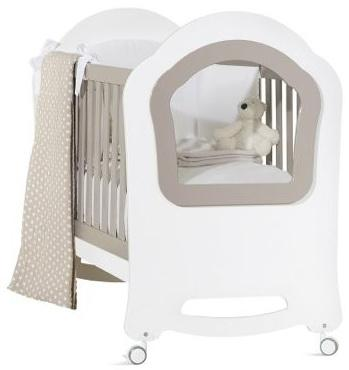 Кроватка Feretti Princier (bianco/menta)
